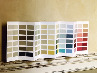 Zoffany Colour Chart Image
